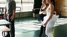 Shaded complexion Swan in a ballet..