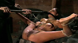 Dashing sex-slave is punished crude..