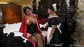 Big tittied British steady Jasmine Jae..