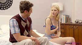 Infant stepmom Lily Rader is smacking..