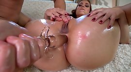 Big bottomed blonde Antonia Sainz is..