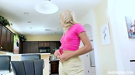 Nice stepdaughter Chanel Grey provides..