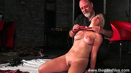 Kinky stud ties up and punishes..