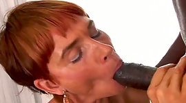 Red pro grannie blows 10 inches of..
