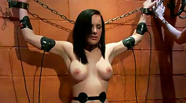 Shackled and crucified lithe..