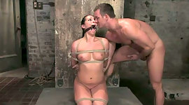 Bound up brown-haired Alexa gains her..