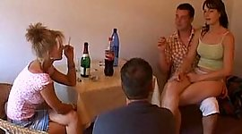 European fuck and fist thrusting orgy
